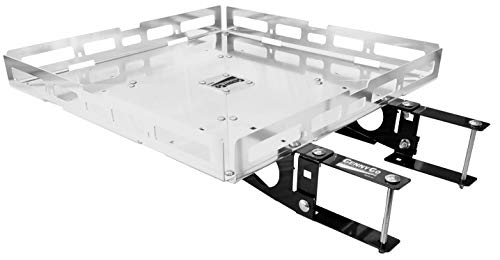 Mount-n-Lock GennyGo RV 4in Bumper-Mounted Generator & Cargo Carrier Tray Kit (TM) (24' x 24', Hybrid)