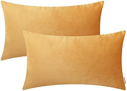 BRAWARM Bolster Microfiber Pillowcases Decoration