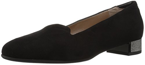 Loafer Women's Black Suede Harlow BeautiFeel a0gx1Ew