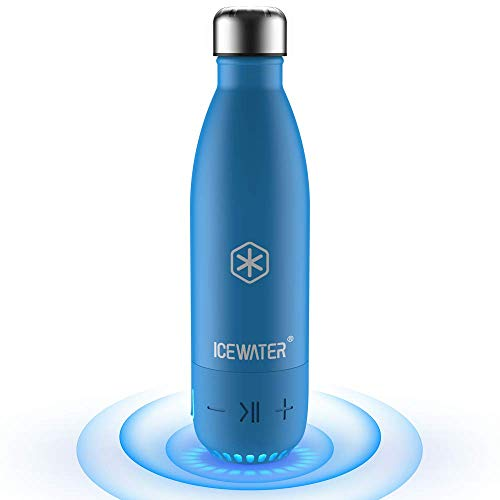 ICEWATER 3-in-1 Smart Water Bottle(Glows to Remind You to Stay
