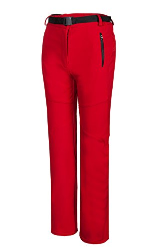 Spvoltereta Women's Outdoor Waterproof Windproof Soft Shell Pants With Fleece – DiZiSports Store