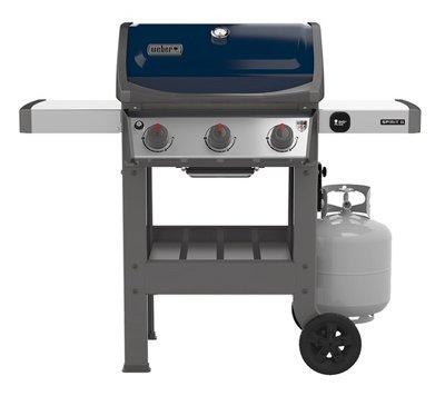 Weber 45020001 Spirit II E-310 Sapphire LP Outdoor Gas Grill