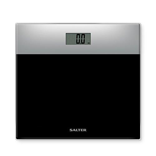 Salter 9206 SVBK3R Báscula de baño electrónica en vidrio templado, capacidad 180 KG, 15 años de garantía, Negro: Amazon.es: Salud y cuidado personal