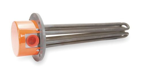 Tempco - TFP01498 - Flanged Immersion Heater, 56-15/16 In. ()