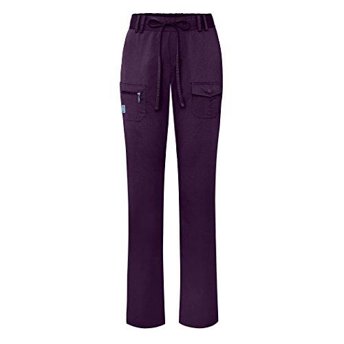 adar-indulgence-jr-fit-low-rise-tapered-leg-6-pocket-drawstring-pants-4100-purple-s