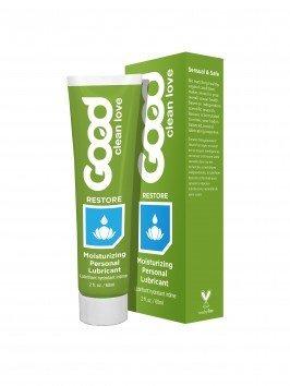 Good Clean Love - Restore Moisturizing Lubricant - Three, 2 oz. Bottles by Good Clean Love