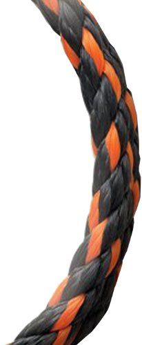 Koch 5031235 3/8 by 50-Feet Poly Twisted 3 Strand Rope, Orange/Black