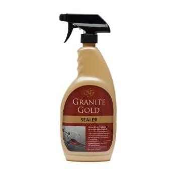 Granite Gold Sealer preserver & protectant, granite sealer, marble sealer, travertine sealer, grout sealer, 24 oz.