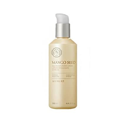[The Face Shop] Mango Seed Silk Mositurizing Lotion For Dry Skin, 130m L/4.3 Oz by Thefaceshop