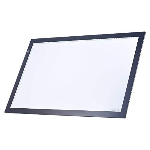 KKmoon A2 LED Light Box Drawing Tracing Tracer Copy Board Table Pad Panel Copyboard with Memory Function Stepless Brightness Control for Artist Animation Tattoo Sketching by KKmoon