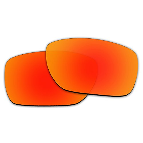 c47a8a469f3 ACOMPATIBLE Replacement Fire Red Polarized Lenses Oakley Tinfoil ...