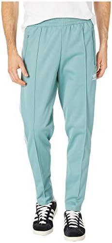 [adidas(アディダス)] メンズパンツ・長ズボン・ジャージ下 Franz Beckenbauer Track Pants Vapour Steel S [並行輸入品]