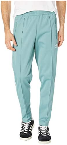 [adidas(アディダス)] メンズパンツ・長ズボン・ジャージ下 Franz Beckenbauer Track Pants Vapour Steel XL [並行輸入品]