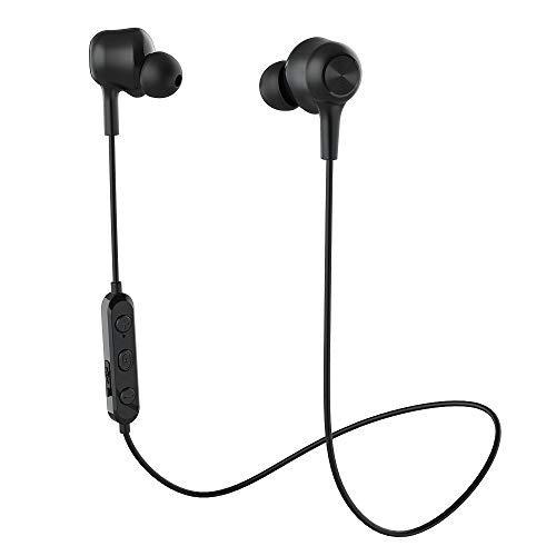 17 - Wireless Headphones Bluetooth 5.0 Earbuds Wireless Earbuds Stereo Bass Magnetic Bluetooth Headphones with Microphone CVC 6.0 Earphones Lightweight Earbuds IPX6 Waterproof for Running