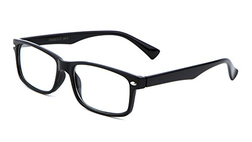 Casual Fashion Horned Rim Rectangular Frame Clear Lens Eye Glasses - Glasses Sexy Mens