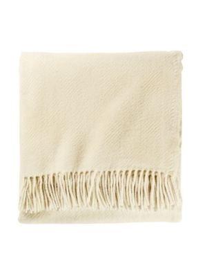 - Pendleton Eco-Wise Washable Wool Fringed Throw Blanket