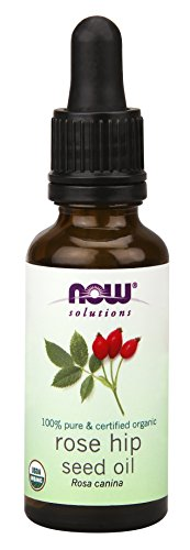 NOW Foods Organic Rose Hip Seed Oil, 2 Ounce