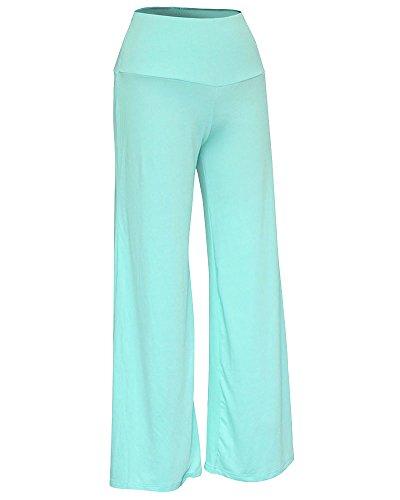 Mujer Pantalones Talle Alto Largos De Pernera Ancha Para Yoga Casual Pantalón Zarco