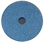 Diameter x 0.12 in Pack of 25 Thickness x 0.62 in Hole Size Ceramic Depressed Center Wheels Norton 547-66252842005 4 in
