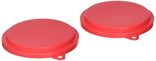 Fox Run 3241 Pet Food Can Covers, Plastic, Set of 2 (Keeper Trinket)