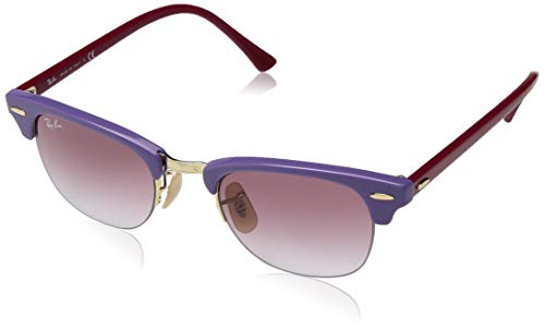 Ray-Ban RB4354 Round Sunglasses, Light Violet/Pink Gradient, 48 mm (Ray Ban Round Metal Sonnenbrille)
