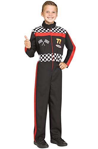 Fun World Race Car Driver Costume, Small 4-6,
