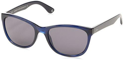 Joules - Lunette de soleil JS7011 641 Salcombe Rectangulaire - Femme Navy Blue/Grey Lens
