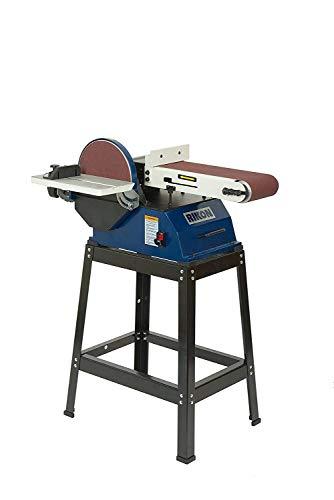 "RIKON Professional Power Tools 6"" x 48"" Belt with 10"" Disc Sander, 50-122"