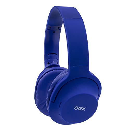 Hs307 Headset Flow (Versão Bluetooth) Azul, OEX, Microfones e fones de ouvido, Azul