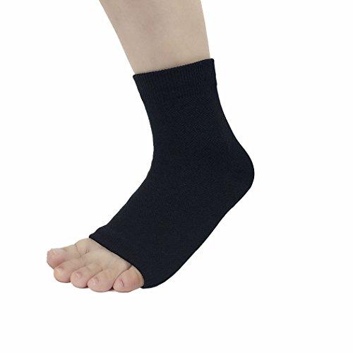 Ankle socks Support of 1 Sleeve MASEE pair Fasciitis Unisex Black pack VENI Compression Plantar qWwxTIFagq