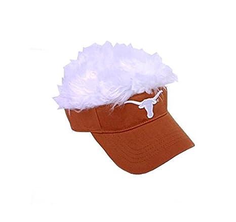 big sale 1838e 12e80 Amazon.com   NCAA Texas Longhorns Flair Hair Visor, Burnt Orange, One Size    Visors Headwear   Sports   Outdoors