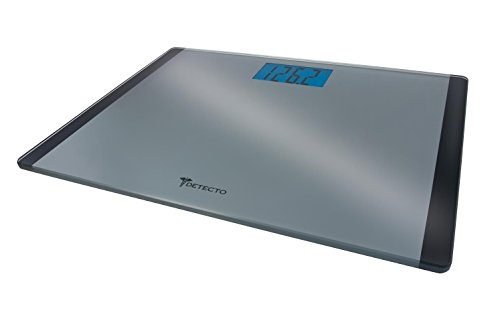 Detecto Wide Body Stainless Steel Scale with LCD Display (Scale Beam Detecto Balance)
