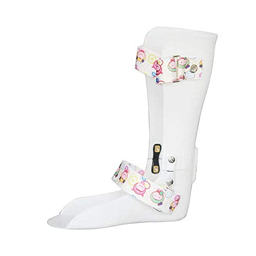 Kids AFO Drop Foot Splint Toddler Custom Othopedic Ankle Foot Brace Night Splint Support for Children (L-Right:7.1IN)