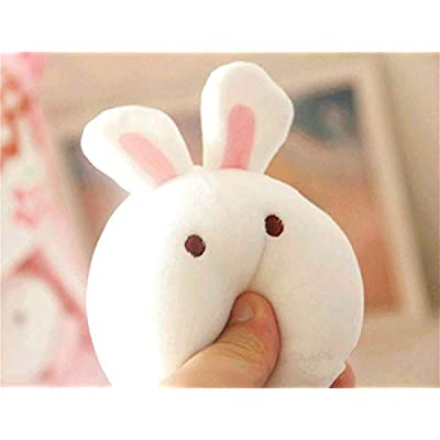 Cute Plush Pillow Throw Pillow Removable Stuffed Animal Toys Creative Gifts for Girls (Bunny): Kitchen & Dining