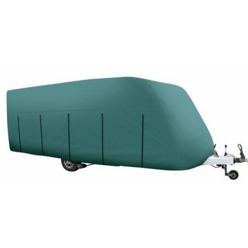 Outdoor Revolution - Funda Protectora para Caravana de hasta 4,1 m, Material Transpirable, 3 Capas, Color Verde 883000