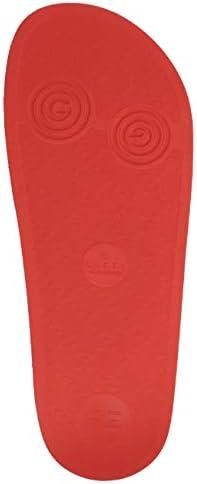 シューズ メンズ Carry Over スライドサンダル ROSSO 575957-JDR00-6448 [並行輸入品]