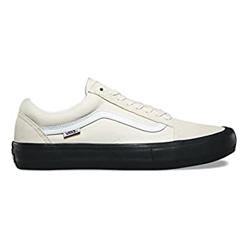 60f987cd13fcf2 Vans Old Skool Pro -Spring 2018-(VN000ZD4U201) - Classic White black - 3.5   Amazon.co.uk  Sports   Outdoors