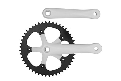Pure Cycles 48T Fixie Crankset for Fixed Gear Bike, ()