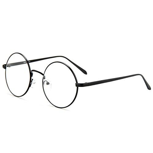 Rx Prescription Lenses Black Frame - 8