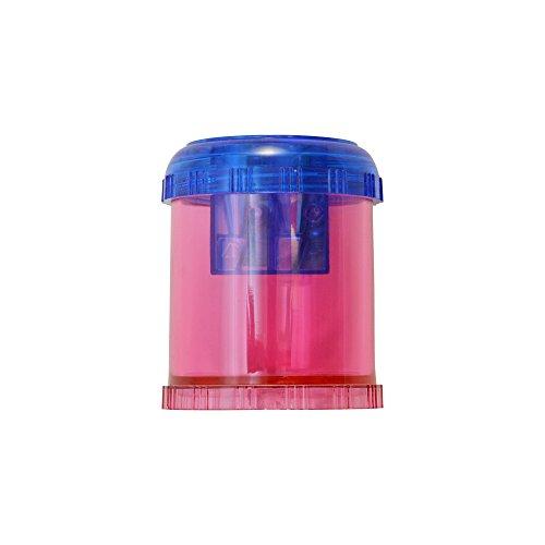 Westcott Plastic Manual Pencil and Crayon Sharpener, Assorted Colors (12202)
