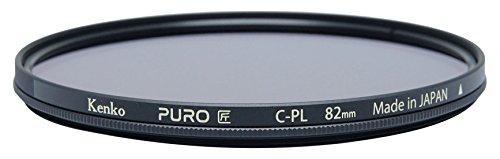 Kenko Puro Wide Angle Slim Ring 82mm multi-Coated Circular Polarizer Filter, Neutral Grey (228259) by Kenko