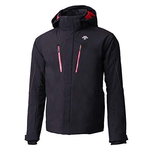 Descente Glade Ski Jacket Black/Red Mens Sz L