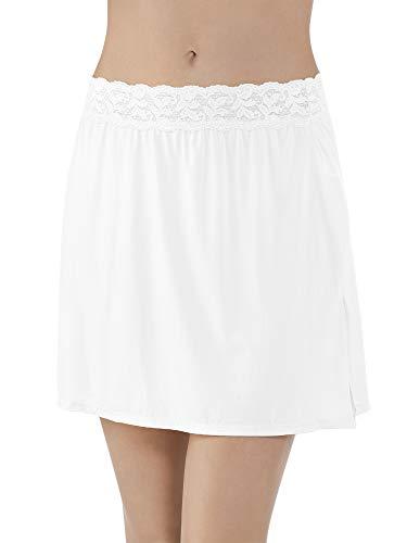Vanity Fair Women's Plus Size Body Foundation Half Slip 11072, Star White, Small (16