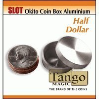 MMS Slot Okito Box Half Dollar Aluminum (with DVD) by Tango -Trick (A0015)