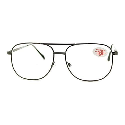 Clear Lens Glasses Bifocal Reading Lens Vintage Square SpringHinge - Lens Glasses Reading Clear
