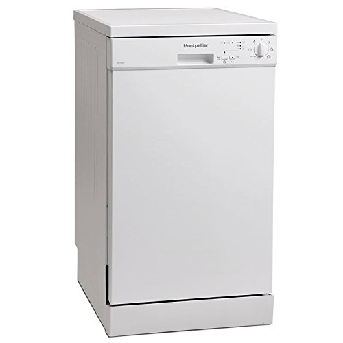Montpellier DW1064P-2 Slimline Dishwasher White [Energy Class A++]