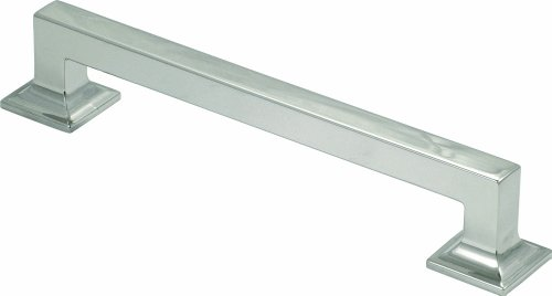 Studio Collection Pull, 8 Inch Center, Polished Nickel - Hickory Hardware P3017-14
