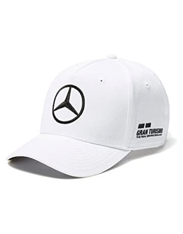 Mercedes AMG F1 Team Driver Puma Hamilton Baseball Gorra Blanco Oficial 2018 0438923f712