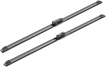 1 paire de balais avant Bosch A636S Balais dessuie-glace plats Aerotwin