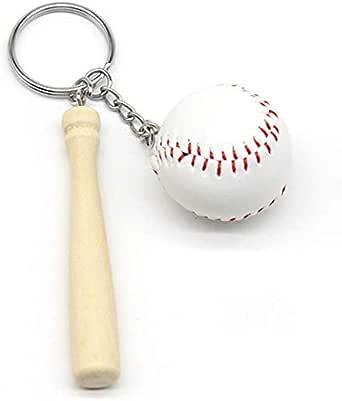 علاقة مفاتيح شعار كرة القاعدة مضرب بيسبول